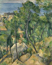 Vue sur la mer à l'Estaque, par Paul Cézanne, Google Art Project.jpg