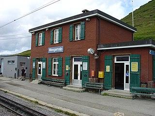 Wengernalp railway station