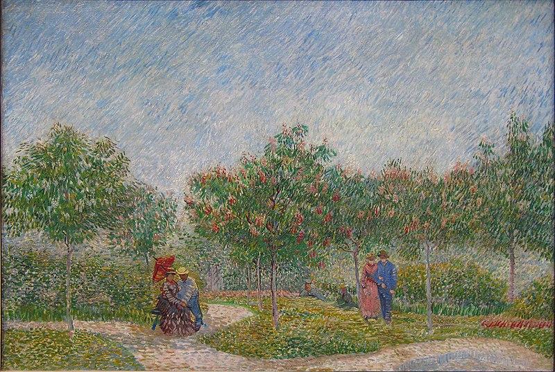 File:WLANL - artanonymous - Verliefde paartjes in het park Voyer d'Argenson te Asnières.jpg