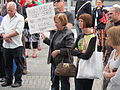 WTF Marlene Oostryck Woman with placard.jpg