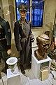 WW2 Norway. Norw. police major (politikommandør) Statspolitiet uniform 1942; Ordnungspolizei vase; Quisling bust by Rasmussen; Straffesak mot Qusiling etc Justismuseet, Trondheim. 2019-03-07 7061.jpg