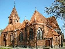 Wabrzezno church