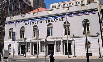 Walnut Street Theatre - Image: Walnut Street Theatre from east