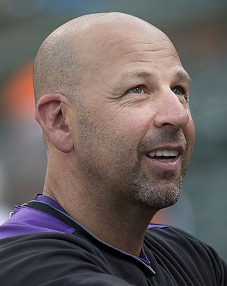 Walt Weiss - Weiss as manager of the Colorado Rockies in 2013