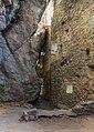 Waltensburg-Vuorz. Ruïne Burg Kropfenstein (Casti Grotta) (actm) 02.jpg