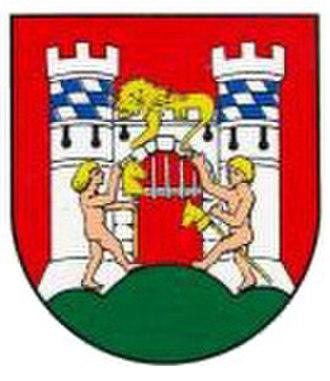 Neuburg an der Donau - Image: Wappen neuburg