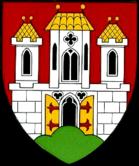 Das Wappen von Burghausen