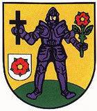 Coat of arms of the city of Lucka