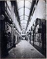 Warenhaus Hartoch an der Bolkerstraße 19 bis 21 in Düsseldorf, durchgehende Einkaufspassage erbaut von dem Architekten Richard Hultsch im Jahre 1905.JPG