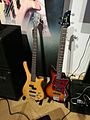 Warwick and Ibanez bass guitars.jpg