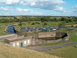 South Staffordshire Water - Water Treatment works at Blithfield Reservoir