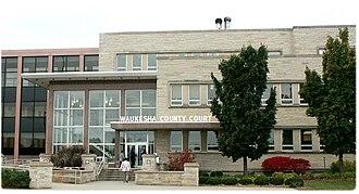 Waukesha County, Wisconsin - Waukesha County Courthouse