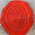 Wax impression of Robert Burns's wax seal.jpg