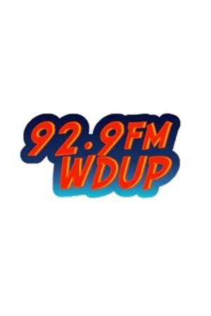 WDUP-LP - 92.9 FM's original logo for the station
