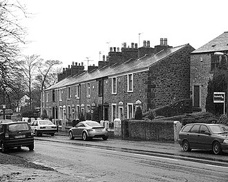 Bamber Bridge - Image: Weavers Cottages, Church Road, BB