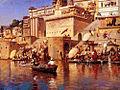 Weeks Edwin On The River Benares.jpg