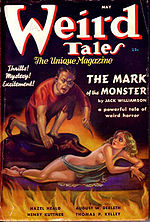 Weird Tales cover image for May 1937