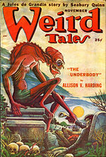 Weird Tales cover image for November 1949