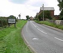 Welcome to Barkby Thorpe - geograph.org.uk - 497106.jpg