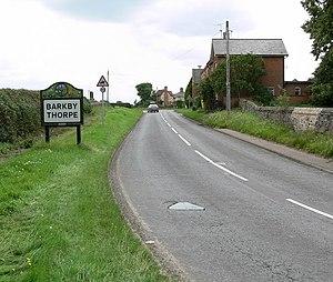 Barkby Thorpe - Image: Welcome to Barkby Thorpe geograph.org.uk 497106