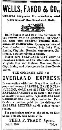 History of Wells Fargo - Wikipedia