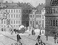 Werderscher Markt, Aquatinta von Friedrich August Calau, um 1810 (Straßenbrunnen).jpg