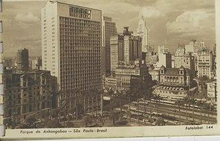 Parcial do Anhangabaú - São Paulo - Brasil