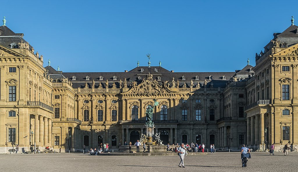 West facade of the Wurzburg Residence 08