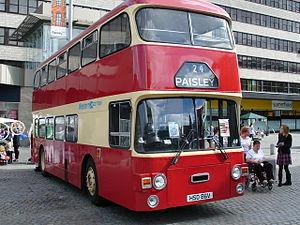 Walter Alexander Coachbuilders - Image: Western Scottish SBG preserved bus Leyland Fleetline Alexander AD Type in Paisley, Renfrewshire 22 September 2006