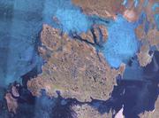 NASA Landsat satellite image of King William Island