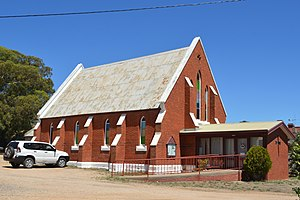 White Hills, Victoria - Image: White Hills Uniting Church 004