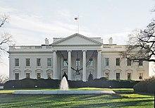 la Casa Bianca - facciata nord