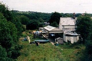 Whitstone and Bridgerule railway station
