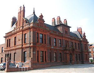 Widnes - Widnes Town Hall, now a listed building, was once the political centre of the town