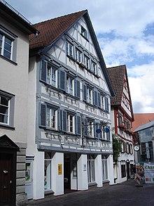 Wielands Elternhaus in Biberach (Quelle: Wikimedia)