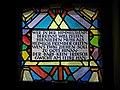Wien-Ottakring - Kirche Sandleiten - kleines Fenster II.jpg