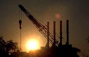 Pyrmont Power Station - Pyrmont ('B') Power Station before demolition