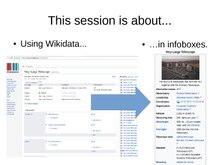 Wikidata and infoboxes panel.pdf