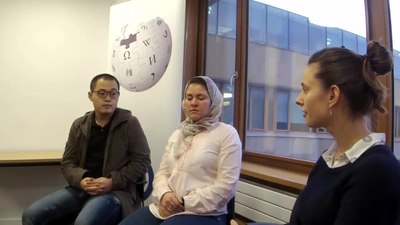 File:Wikipedia in the Classroom - Interview with Edinburgh University's Translation Studies MSc students.webm