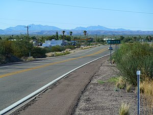 Wikieup, Arizona - Image: Wikiup, AZ, Afternoon panoramio