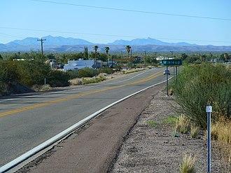 Wikieup, Arizona - Image: Wikiup, AZ, Afternoon panoramio