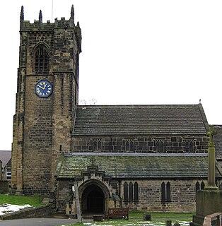 Calverley Village in West Yorkshire, England