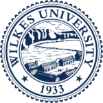 Wilkes University Seal Blue.png