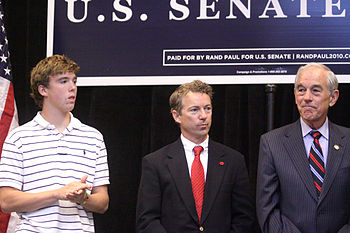United States Senate candidate Rand Paul at a ...