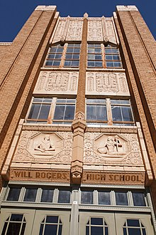 Will Rogers High School Tower.jpg