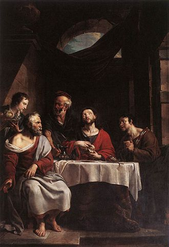 Willem Jacob Herreyns - Supper at Emmaus