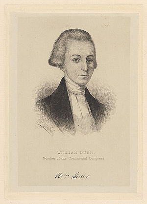 Christopher Gore - Gore's business partner William Duer