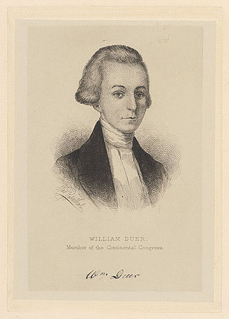 William Duer (Continental Congressman) - Image: William Duer