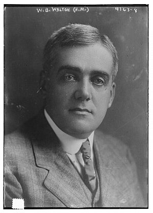 New Mexico's at-large congressional district - Image: William Bell Walton (January 23, 1871 – April 14, 1939) circa 1917