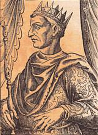 Papal election, 1159 - King William I of Sicily.